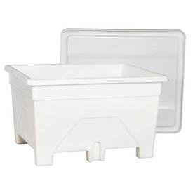 Bonar Plastics FDA Heavy Duty Versa Tote VT1200HD-A001 - 41x49x29 1500 lb Capacity Natural