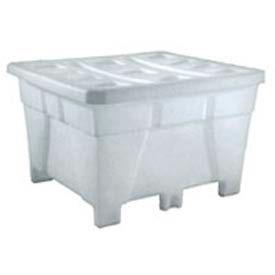 Bonar Plastics FDA Tra Tote TT851-A001 - 48x42x29 1500 lb Capacity Natural