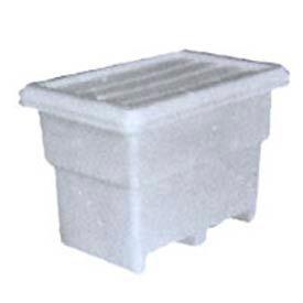 Bonar Plastics FDA Multi-Tote with Lid MT140-A001 - 41-1/4 x 27-3/4 x 30-1/4 844 lb Capacity Natural