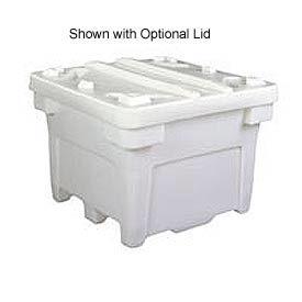 Bonar Plastics FDA Single Wall Bulk Container PC-3000-A001 - 43x43x30-1/2 1000 Lb Capacity Natural
