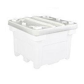 Bonar Plastics Lid PC-3028LID-A001 for FDA Bulk Container 42-1/2 x42-1/2 Natural
