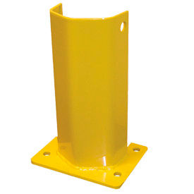 "Husky Rack & Wire I5712-P Pallet Rack Frame Guard 5""W x 4""D x 12""H - Yellow"
