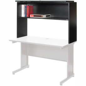 """Interion™ 36"""" Hutch - Charcoal"""