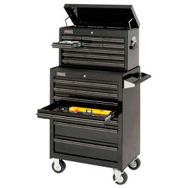 Homak Professional Series 16 Drawer Chest/Roller Cabinet Combo