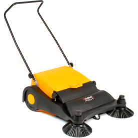 Global® Industrial Push Sweeper