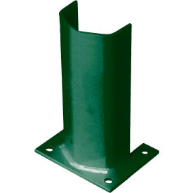 """1/4"""" Thick 12"""" H Steel Post Protector Green"""