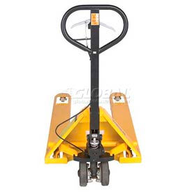 Wesco® Pallet Truck with Hand Brake 272667 5500 Lb. Capacity