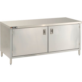 "Aero Manufacturing 2TGOHD-3048 48""W x 30""D Premium Flat Top Cabinet, Hinged Doors, Galv."