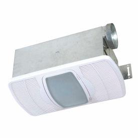 Exhaust fans bathroom air king combination heater exhaust fan fluorescent light night for Bathroom exhaust fan with heater and night light