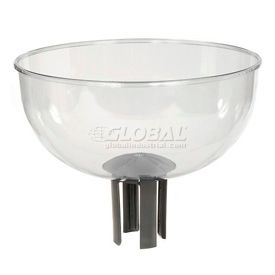 Tensabarrier Merchandising Bowl with Adapter