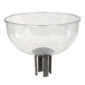 Tensator Queueway Merchandising Bowl with Adapter