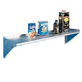 """Aero Manufacturing 4W-1036 36""""W x 10""""D Economy SS NSF Wall Shelf"""