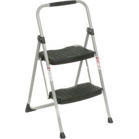 Werner 2 Step Steel Folding Step Ladder 225 lb. Cap  - 222-6