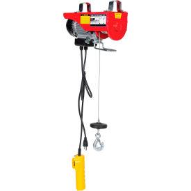 Hoists Amp Cranes Hoists Electric Powered Vestil Mini Electric Cable Hoist 200 Lb Double Line Capacity 985005 Globalindustrial Com