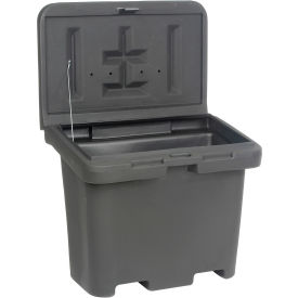 """Buyer Products Poly Bulk Container 9031100 - 36""""L x 24""""W x 30""""H, Black"""