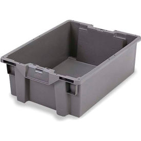 ORBIS Stack-N-Nest Pallet Container GS6040-13 - 23-5/8 x 15-3/4 x 5-1/4 Gray