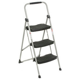 Werner® 3 Step Steel Folding Step Ladder