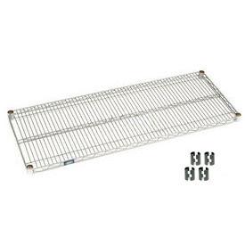 Chrome Wire Shelf 42x24 With Clips