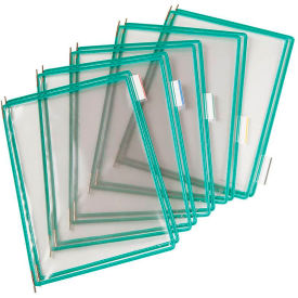Tarifold® t-technic Pivoting Pocket Packs, 10 Pockets/Pack, Green