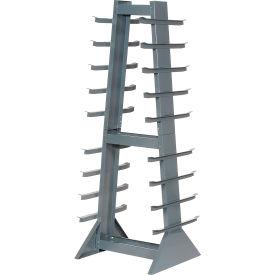Horizontal Storage Rack 9 Levels 2600 Lb Capacity