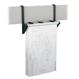 Cubicle Wall Rack Charcoal