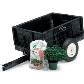 Rubbermaid® 5662-61 Nursery & Lawn Tractor Cart Trailer 8 Cu. Ft. Capacity
