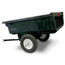 Rubbermaid® 5660 Nursery & Lawn Tractor Cart Trailer 10 Cu. Ft. Capacity