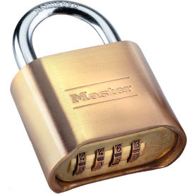 """Master Lock® No. 175D Set-Your-Own Brass Combination Padlock - 2""""W"""