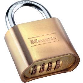 "Master Lock® Set-Your-Own Brass Combination Padlock 2""W"