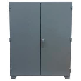 "Jamco Mill Duty Storage Cabinet MJ260 - 12 Gauge 60""W x 24""D x 78""H, 4 Adjustable Shelves Gray"