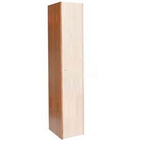 Hallowell WCEP1872W-RO Wood Club Locker Finished End Panel 18x72 Red Oak