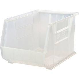 Quantum Ultra Stack and Hang Bin QUS255CL 11 x 16 x 8 Clear - Pkg Qty 4