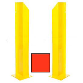 "Heavy Duty Door Track Protector 48"" Pair ( Left & Right) Green"