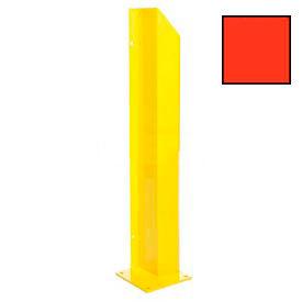 """Heavy Duty Door Track Protector 24"""" Left Orange"""