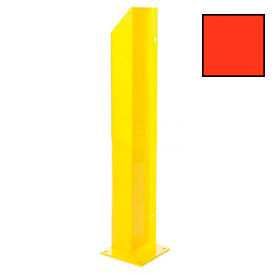 "Heavy Duty Door Track Protector 24"" Right Orange"