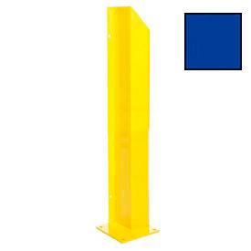 """Heavy Duty Door Track Protector 48"""" Left Blue"""