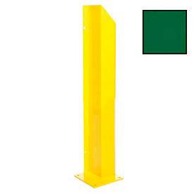 """Heavy Duty Door Track Protector 48"""" Left Green"""