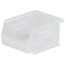 "Akro-Mils AkroBin® Plastic Stacking Bin 30210SCLAR - 4-1/8""W x 5-3/8""D x 3""H Clear - Pkg Qty 24"
