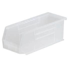 "Akro-Mils AkroBin® Plastic Stacking Bin 30224SCLAR - 4-1/8""W x 10-7/8""D x 4""H Clear - Pkg Qty 12"