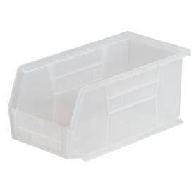 "Akro-Mils AkroBin® Plastic Stacking Bin 30230SCLAR - 5-1/2""W x 10-7/8""D x 5""H Clear - Pkg Qty 12"