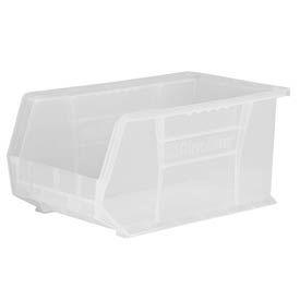"Akro-Mils AkroBin® Plastic Stacking Bin 30239SCLAR - 8-1/4""W x 10-3/4""D x 7""H Clear - Pkg Qty 6"
