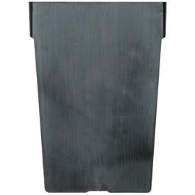 "Akro-Mils Shelf Bin Divider 40020 For 4""W x  6""H Bins, Black, Price Per Pack of 12"