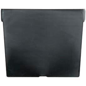 "Akro-Mils Shelf Bin Divider 40030 For 7""W x  6""H Bins, Black, Price Per Pack of 12"