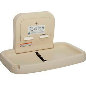 Koala Kare® Horizontal Baby Changing Table - Cream KB200-00
