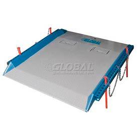 Bluff® 20C8460 Steel Red Pin Heavy Duty Dock Board 84 x 60 20,000 Lb. Cap.