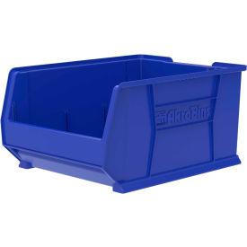 """Akro-Mils Super-Size AkroBin® 30289 - Stacking Bin 18-1/4""""W x 23-7/8""""D x 12""""H Blue"""