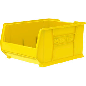 "Akro-Mils Super-Size AkroBin® 30289 - Stacking Bin 18-1/4""W x 23-7/8""D x 12""H Yellow"