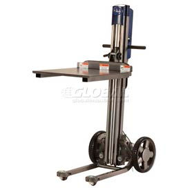 """The Mule™ Folding Powered Lift Truck - 21"""" Forks & Removable Platform"""