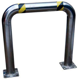 """Stainless Steel High Profile Machinery Guard 36"""" L x 36"""" H x 4-1/2"""" Dia"""