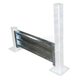 Galvanized Structural Guard Rail 4 Ft. Drop-in Style